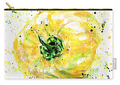 Yellow Pepper Carry-all Pouch