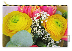 Yellow Persian Buttercups Carry-all Pouch