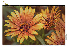 Carry-all Pouch featuring the photograph Yellow Petals #g3 by Leif Sohlman