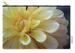 Yellow Petals With Raindrop Carry-all Pouch