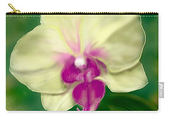 Yellow Phalenopsis Carry-all Pouch