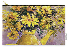 Yellow Pot Of Sunshine Carry-all Pouch