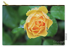 Yellow Rose Details Carry-all Pouch