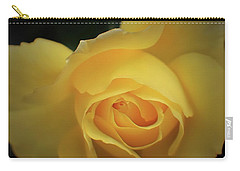 Yellow Rose Garden Two Carry-all Pouch by Ella Kaye Dickey