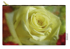 Yellow Rose Carry-all Pouch by Garry McMichael