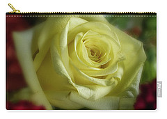 Yellow Rose Of Texas Carry-all Pouch by Garry McMichael