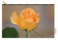 Carry-all Pouch featuring the photograph Yellow Rose Of Texas by Joan Bertucci