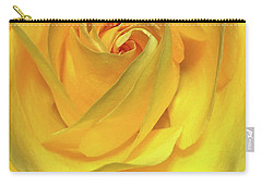 Yellow Rose Carry-all Pouch