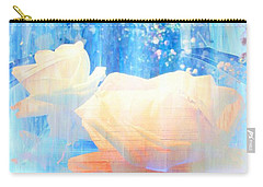 Yellow Roses By The Bridge Carry-all Pouch