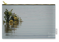 Yellow Roses Emerging From The Sea Carry-all Pouch