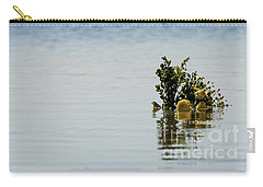 Yellow Roses In The Distance At The Beach Carry-all Pouch