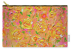 Yellow Roses Of Texas Carry-all Pouch