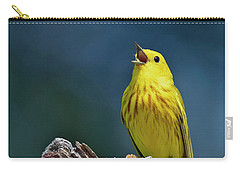 Yellow Sinatra Carry-all Pouch
