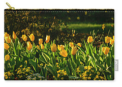 Yellow Spring Fever Carry-all Pouch