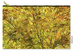 Yellow Spring Carry-all Pouch by Iris Greenwell