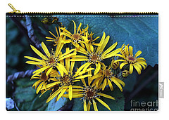 Yellow Stars Carry-all Pouch by Yumi Johnson