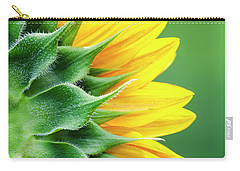 Yellow Sunflower Carry-all Pouch