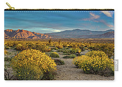 Carry-all Pouch featuring the photograph Yellow Sunrise by Peter Tellone
