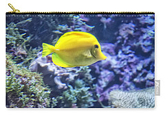 Yellow Tang Carry-all Pouch