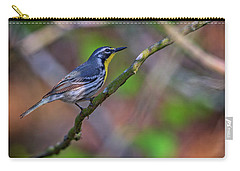 Yellow-throated Warbler Carry-all Pouch by Rick Berk