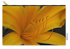 Yellow Tiger Lilly Carry-all Pouch