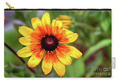 Yellow Tones Carry-all Pouch by Adrian LaRoque
