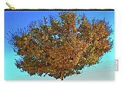 Yellow Tree Blue Sky Carry-all Pouch