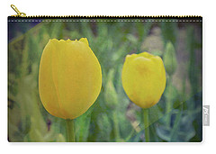 Yellow Tulip Art Carry-all Pouch
