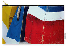 Yellow White Blue Red Carry-all Pouch