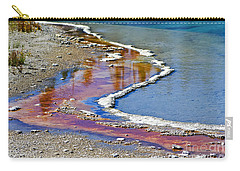 Yellowstone Abstract I Carry-all Pouch