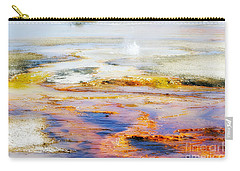 Yellowstone Abstract II Carry-all Pouch