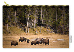 Yellowstone Bison Carry-all Pouch