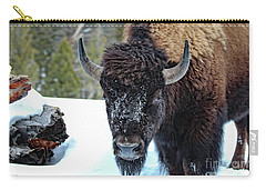Yellowstone Buffalo Stare-down Carry-all Pouch