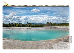 Carry-all Pouch featuring the photograph Yellowstone Colors #11 by Scott Read