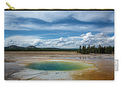 Carry-all Pouch featuring the photograph Yellowstone Colors #12 by Scott Read