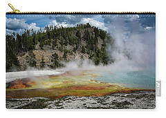 Carry-all Pouch featuring the photograph Yellowstone Colors #13 by Scott Read