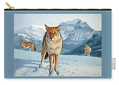 Yellowstone Coyotes Carry-all Pouch