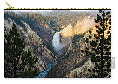 Yellowstone Falls Carry-all Pouch