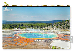 Yellowstone Grand Prismatic Spring  Carry-all Pouch