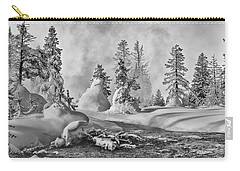 Yellowstone In Winter Carry-all Pouch