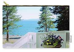 Yellowstone Lake			 Carry-all Pouch by Ann Johndro-Collins