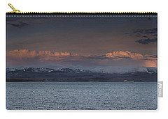 Yellowstone Lake At Sunset Carry-all Pouch