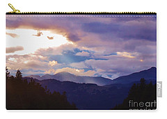 Carry-all Pouch featuring the photograph Yellowstone by Larry Campbell