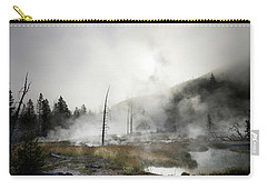 Yellowstone Morning Fog Carry-all Pouch