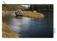 Yellowstone Nat'l Park Madison River Carry-all Pouch by Cindy Murphy - NightVisions