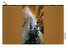 Carry-all Pouch featuring the photograph Yellowstone Rainbow by Norman Hall