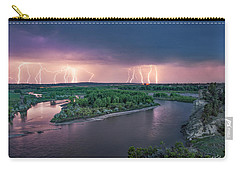 Yellowstone River Lightning Carry-all Pouch