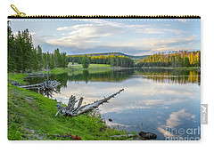 Yellowstone River Off Grand Loop Carry-all Pouch
