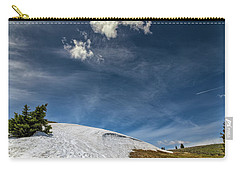 Carry-all Pouch featuring the photograph Yellowstone Sky by John M Bailey