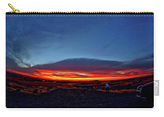 Yellowstone Sunset Carry-all Pouch